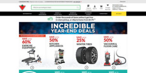 Canadian Tire (Best Online Shopping Site)