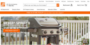 Home Depot Canada (Best Online Shopping Sites)