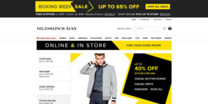 Hudson's Bay (Canadian Online Shopping Site)