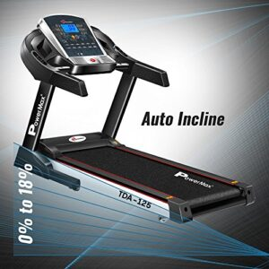 Powermax Fitness Treadmill for Cardio Workout TDA-125 (2.0 HP)