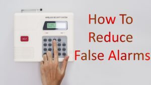 what causes false alarms on home security systems